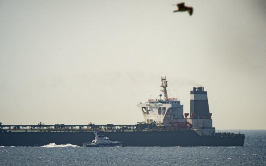 Sulaikytas tanklaivis Gibraltare