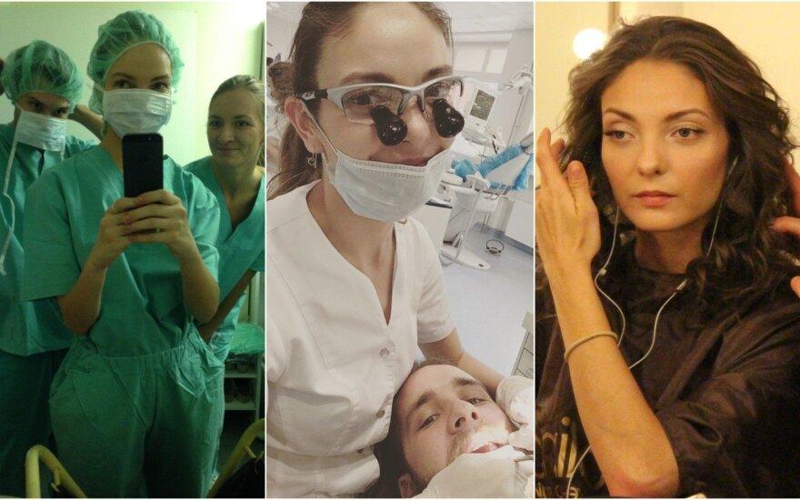 Milda Štakėnaitė aktorystę iškeitė į mediciną