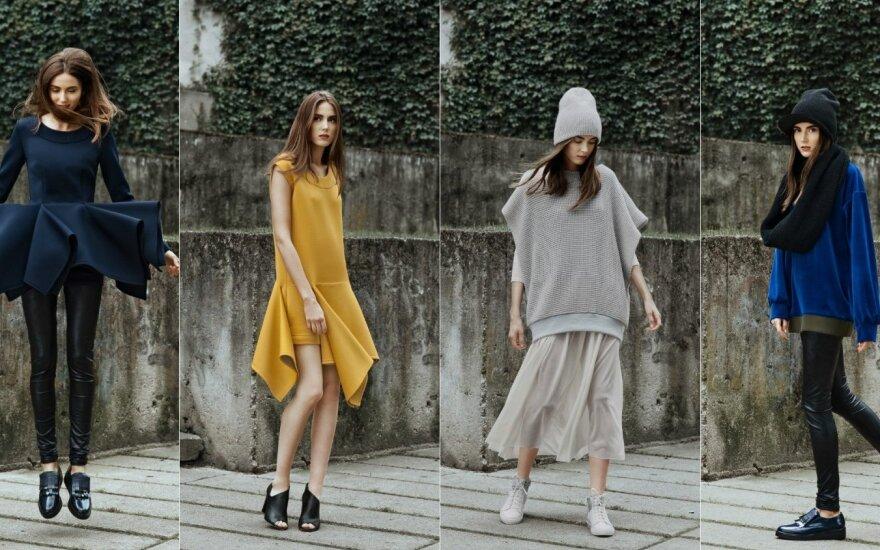 Naujoji L. Dailidėnienės kolekcija - jaunatviškai miesto moteriai