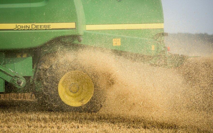 Rusija stabdo grūdų eksportą iki liepos 1 d.