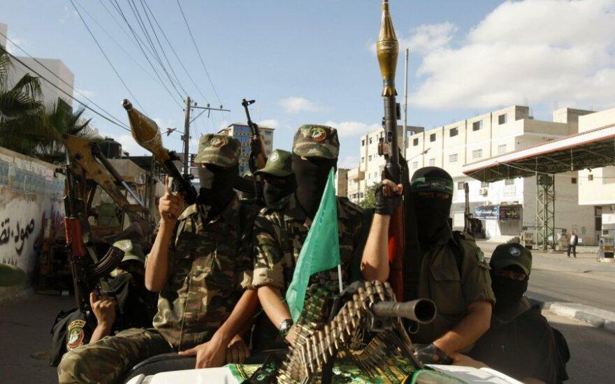 """Konfliktas Gazos Ruože: JAV dėl pražūtingo smurto kaltina """"Hamas"""""""