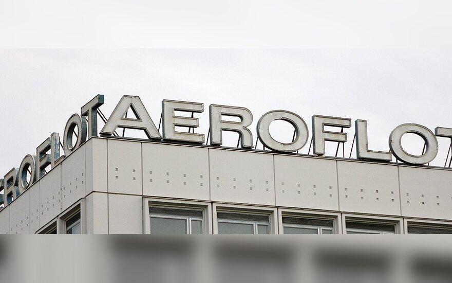 """""""Aeroflot"""" svarsto galimybę sugrįžti į Vilniaus oro uostą"""
