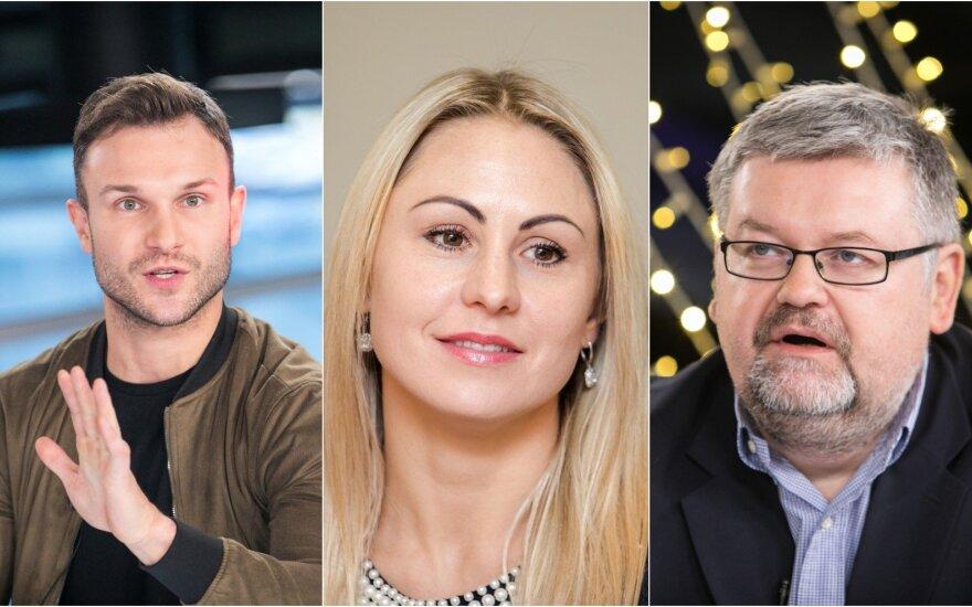 Į Vilniaus savivaldybę patekti bandys žinomi sporto bei šou pasaulio veidai