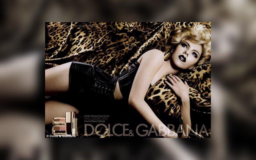 "Scarlett Johansson ""D&G"" reklamoje"