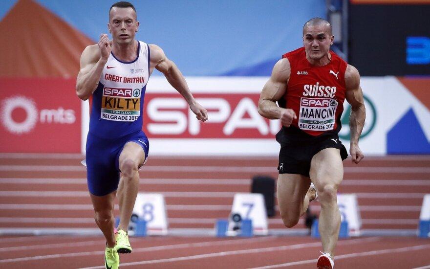 Pascalis Mancini (dešinėje)