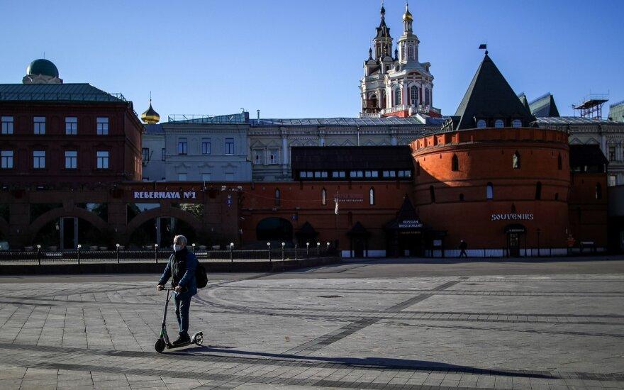 Rusijoje užfiksuotas didžiausias mirčių nuo COVID-19 skaičius per parą