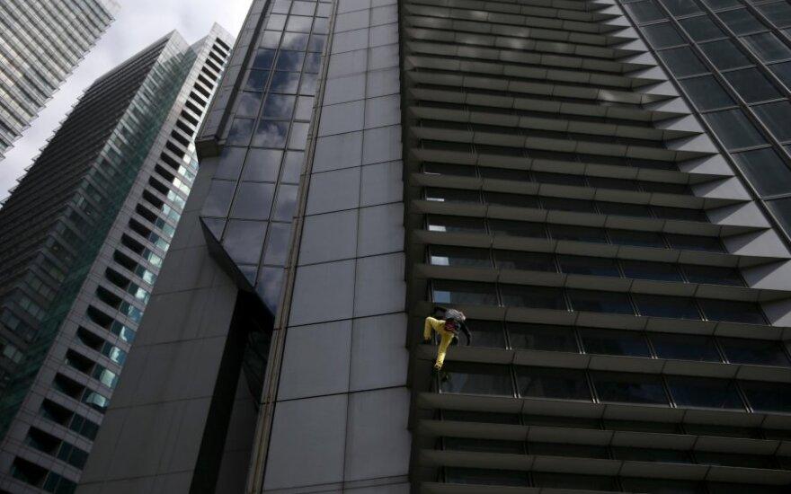 Alainas Robert'as kopia į dangoraižį