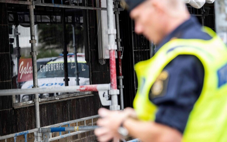 Sprogimas Stokholmo priemiestyje nusinešė vieno žmogaus gyvybę