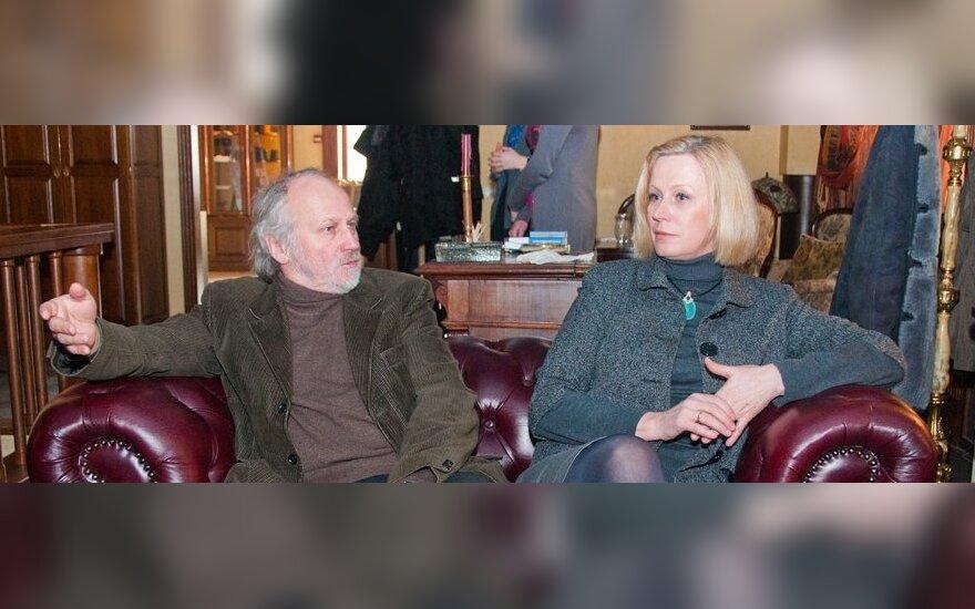 Algimantas Puipa ir Janina Lapinskaitė