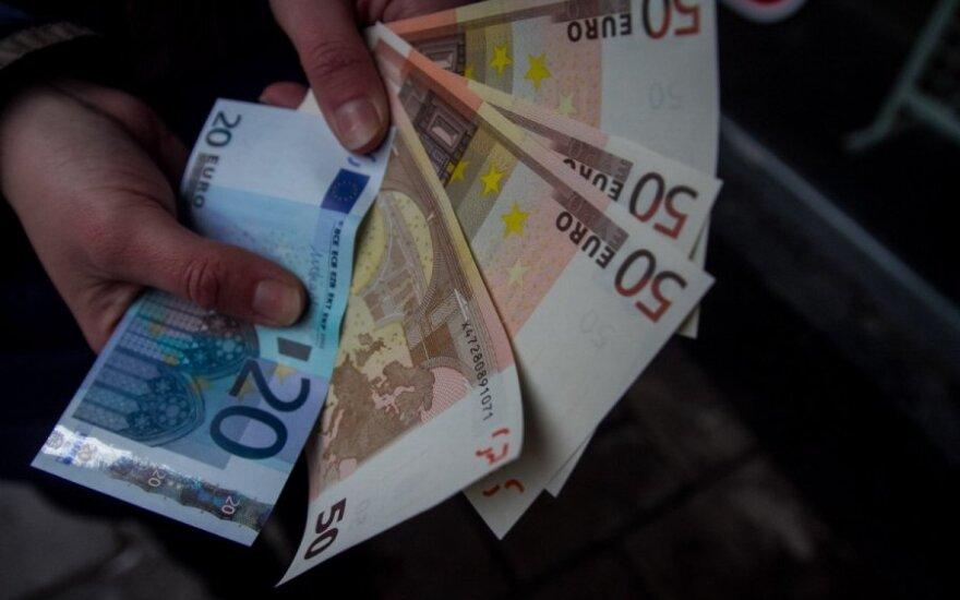 Kaune – netikrų eurų protrūkis