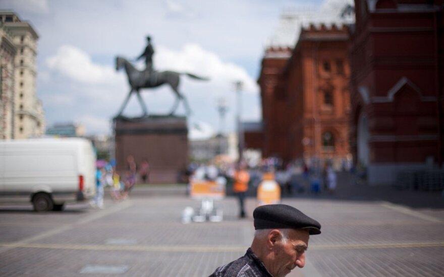 """Rusija nuspręs, kurios užsienio organizacijos šalyje """"nepageidaujamos"""""""