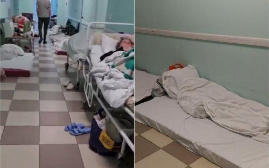 COVID-19 situacija Rusijoje darosi nekontroliuojama: plinta dramatiškas vaizdo įrašas