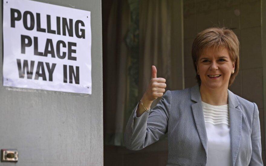 """Škotijos parlamentas gali atmesti """"Brexit"""" įstatymą"""