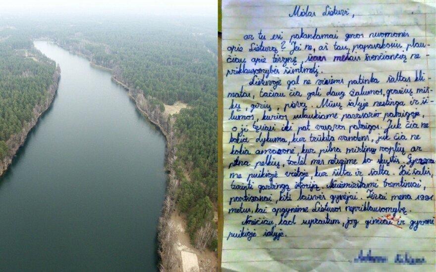 Tėvelis pasidalino jautriu sūnaus laišku: jis skiriamas visiems lietuviams