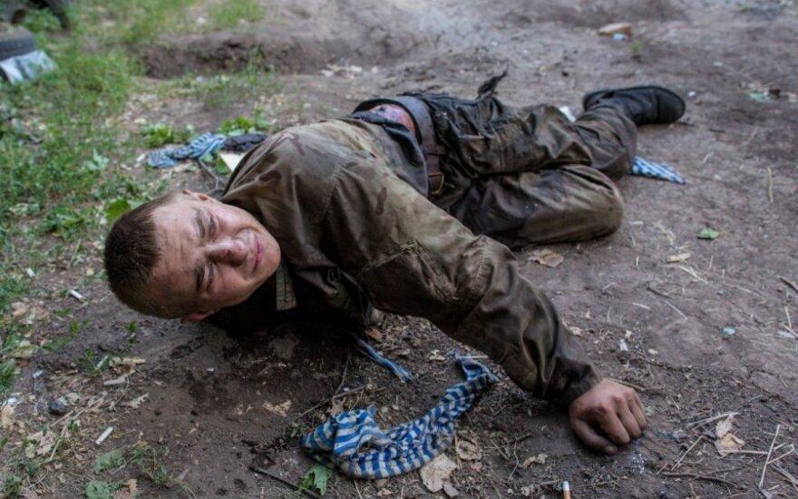 Ukraina: žuvusieji – neatpažįstami