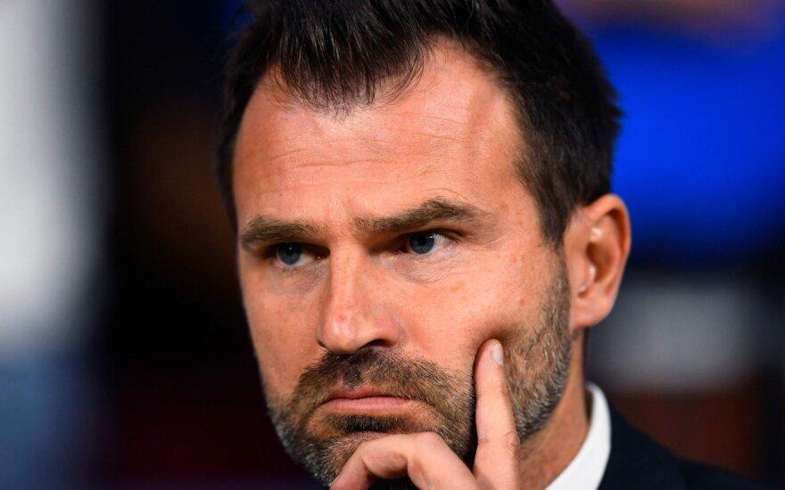 "FC ""Brugge"" strategas Ivanas Leko"