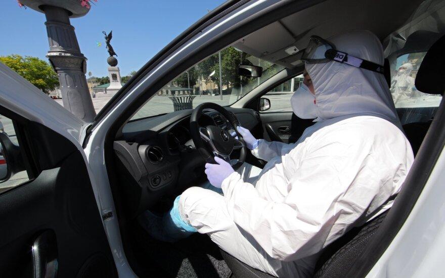 Ukrainoje per parą nustatyta 664 nauji COVID-19 atvejų, 14 žmonių mirė