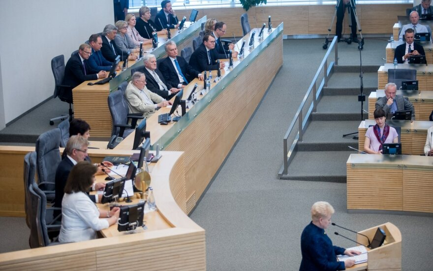 Grybauskaitės paskutinis metinis pranešimas – trumpiausias iš visų