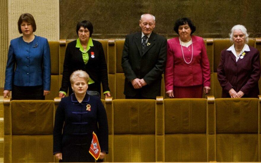 D. Grybauskaitė: sausio įvykiai paliko randą, bet nepalaužė tikėjimo laisve