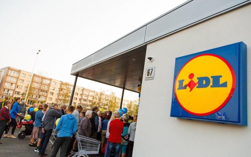 Antrosios LIDL parduotuvės atidarymas Panevėžyje / LIDL nuotr.