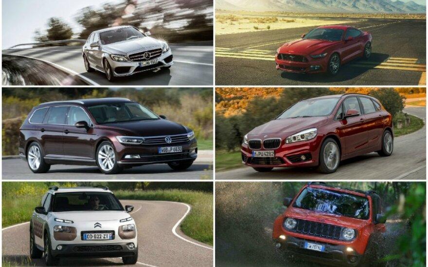 Pasaulio geriausi automobiliai 2015 m.