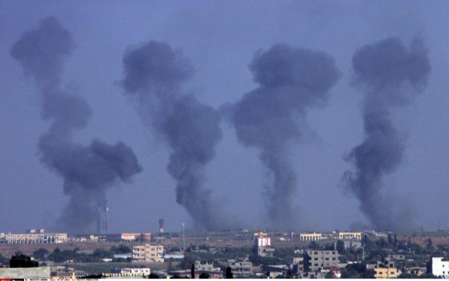 Gazos Ruože toliau liejasi kraujas