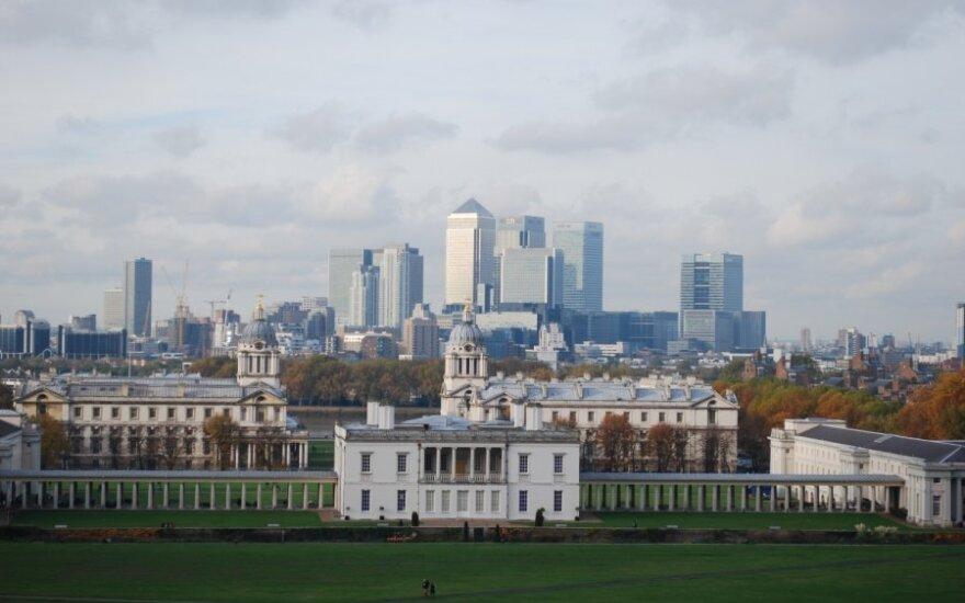 """Londono Sitis optimistiškai nusiteikęs dėl """"Brexit"""" pereinamojo laikotarpio"""