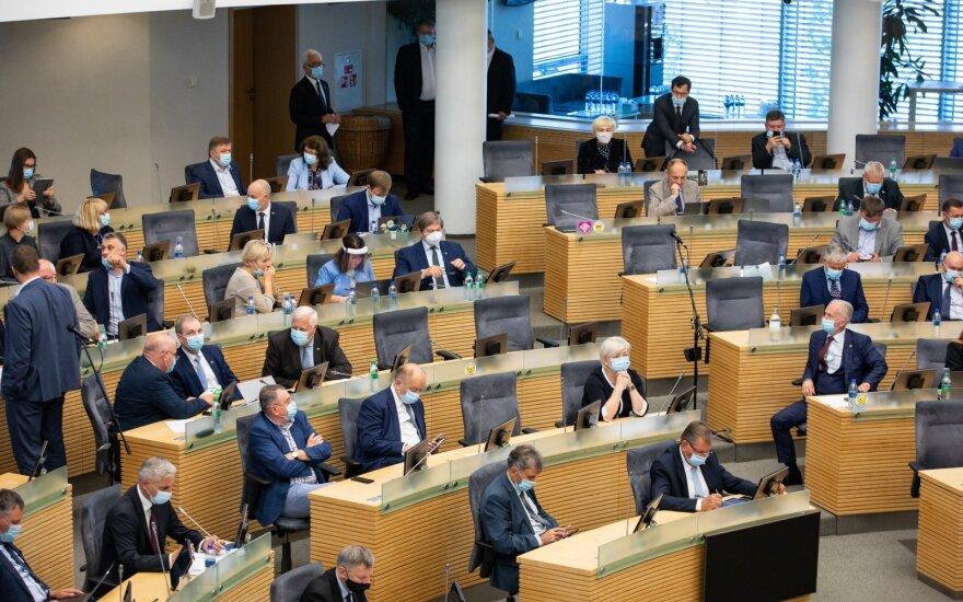 Seimas apsispręs dėl prezidento veto pataisoms dėl valdybų sudarymo