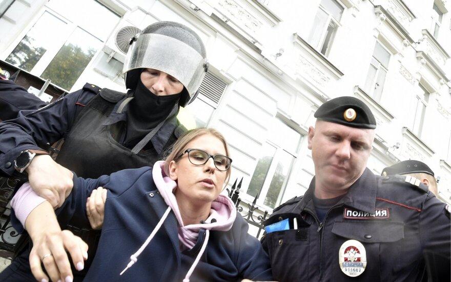 Maskvoje sulaikyta Liubovė Sobol