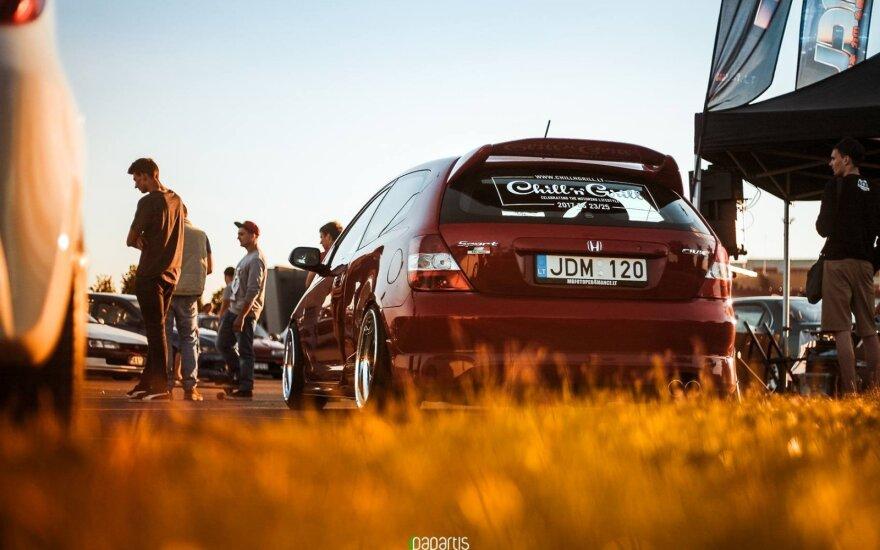 Japoniškų automobilių gerbėjai kviečiami į pajūrį. Martyno Charevičiaus (Papartis.eu) nuotr.