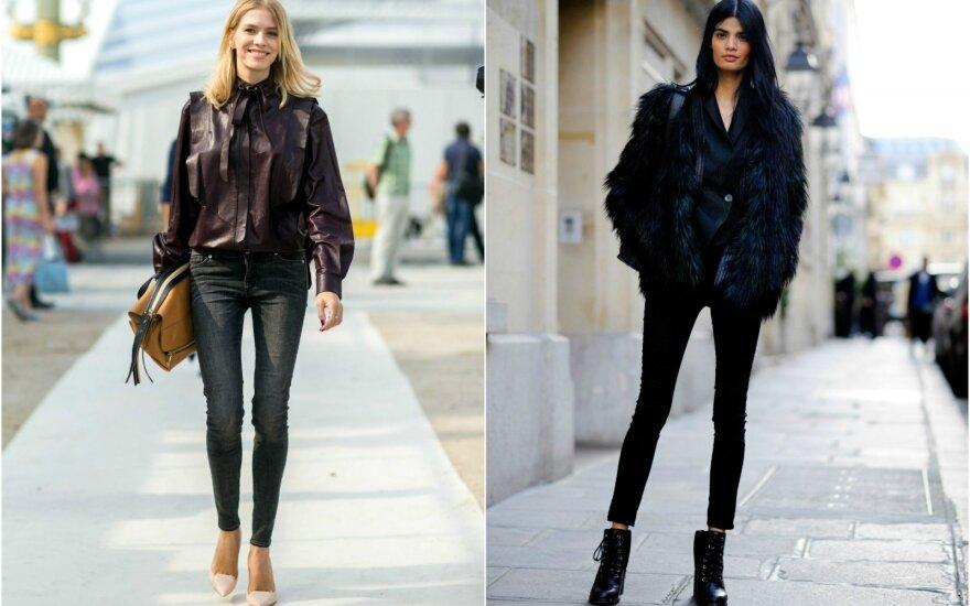"""""""Skinny"""" džinsų dėvėjimo ir derinimo klaidos, kurių būtina vengti"""