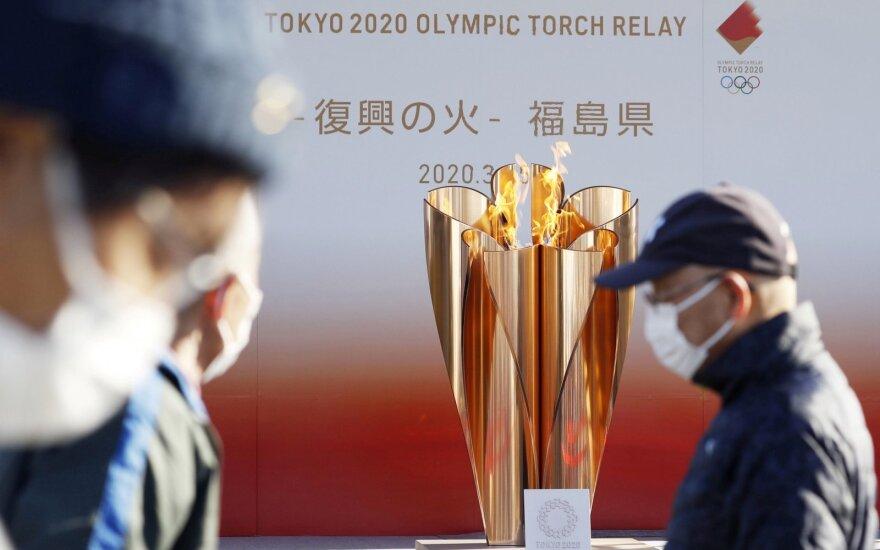 Olimpinė ugnis Tokijuje