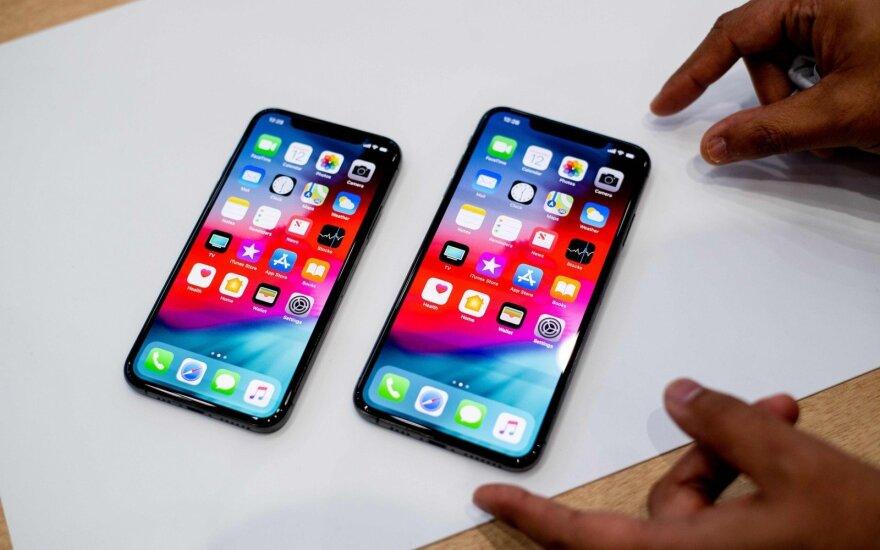 iPhone Xs ir iPhone Xs Max