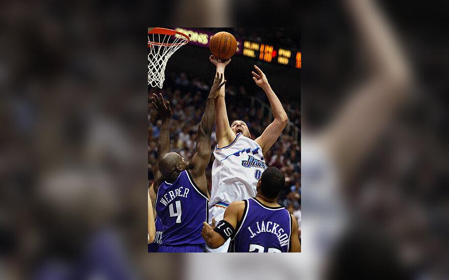"""Gregas Ostertagas, """"Utah Jazz"""""""