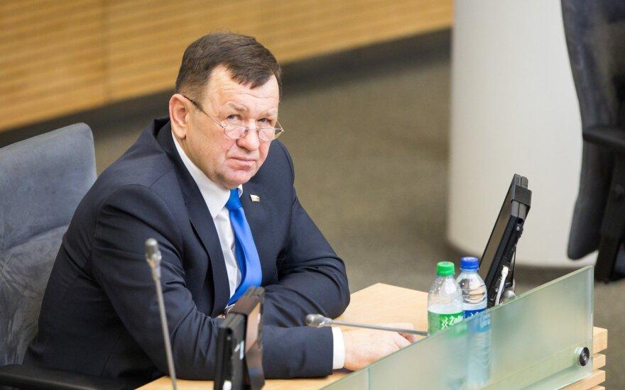 Сейм Литвы лишил парламентария Пукаса правовой неприкосновенности