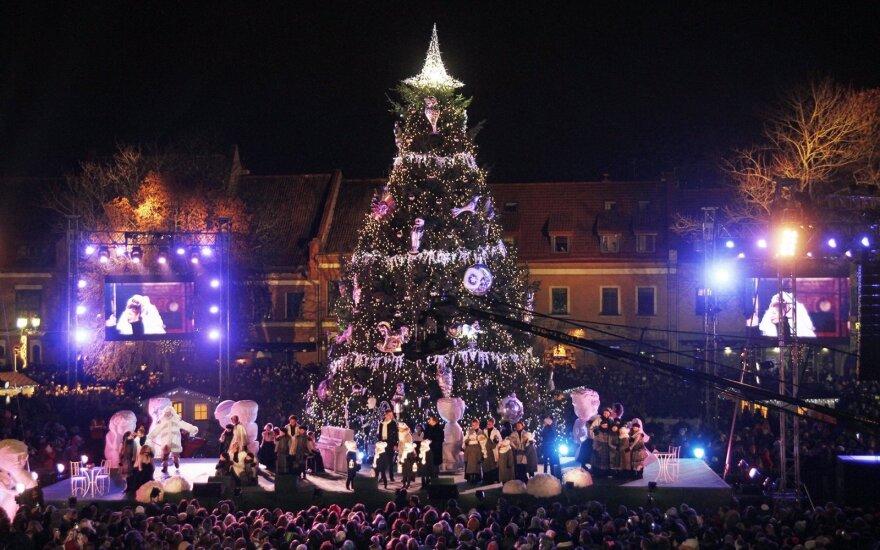 Kauno Šv. Kalėdų eglutės įžiebimas