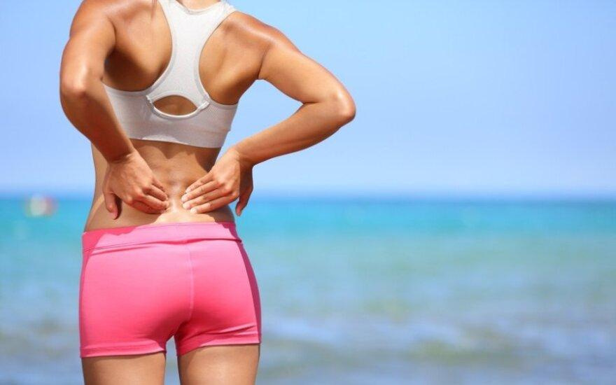 Ko reikia, kad stuburas ir sąnariai būtų sveiki