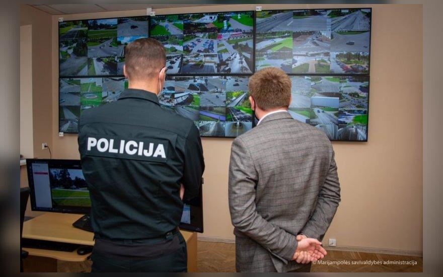 Marijampolėje pradėjo veikti moderni vaizdo stebėjimo sistema