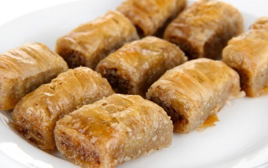 Korėjietiškas medaus pyragas