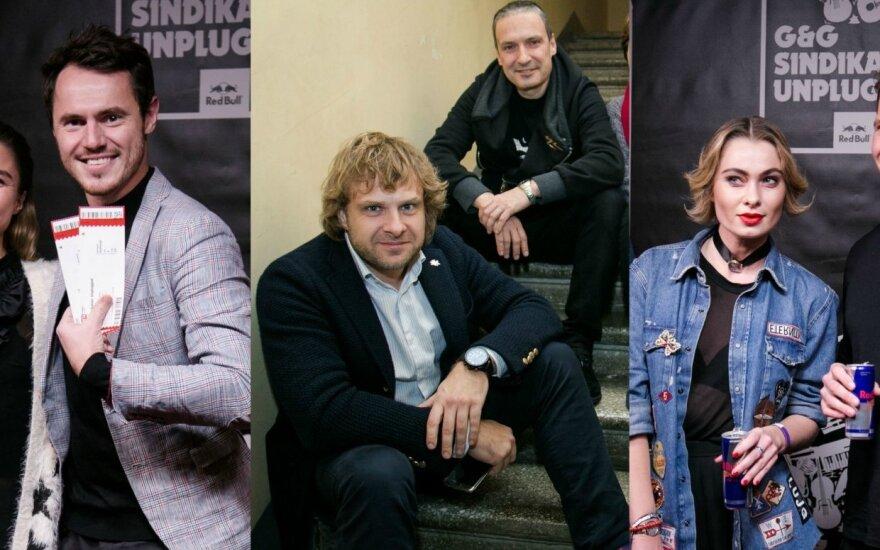 Richardas Jonaitis, Jovita Balčiūnaitė, Benediktas Vanagas, Darius Užkuraitis, Ieva Stasiulevičiūtė su draugu