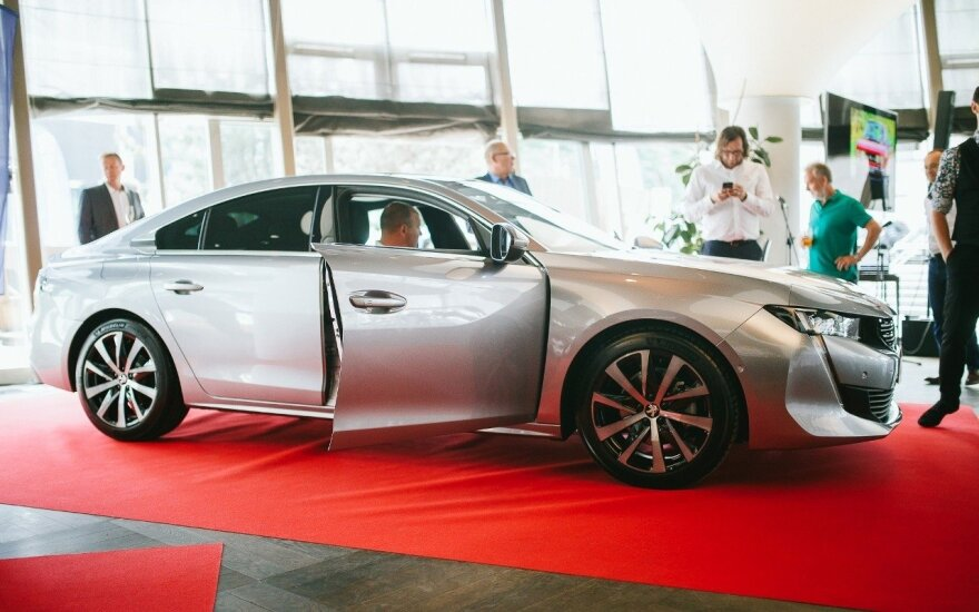 "Naujojo ""Peugeot 508"" pristatymas Vilniuje"