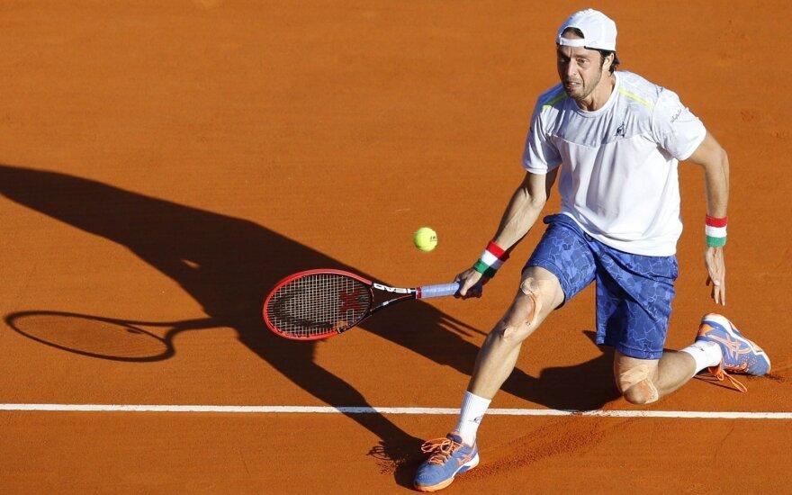 Italas P. Lorenzi laimėjo pirmą ATP turnyrą karjeroje