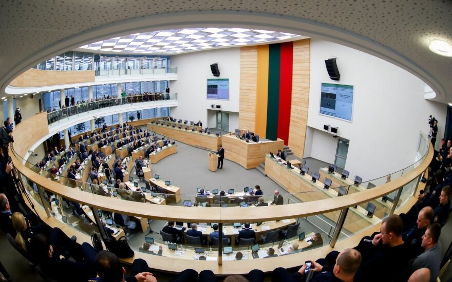 Seimas rejects idea of early election