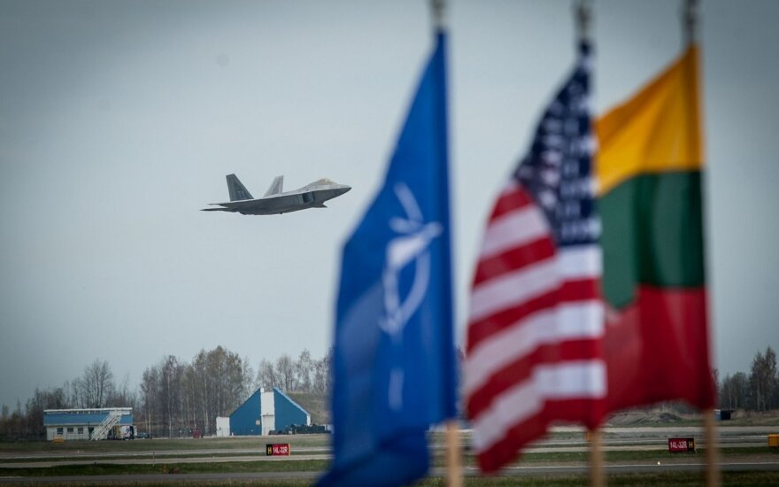 US investment triples Lithuanian air base's capacity to host allied aircraft