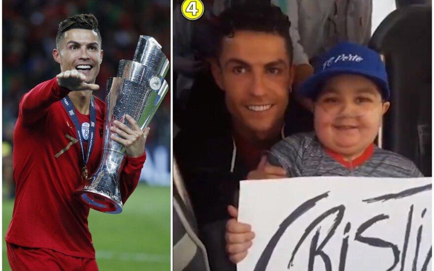 Cristiano Ronaldo, sirgalius