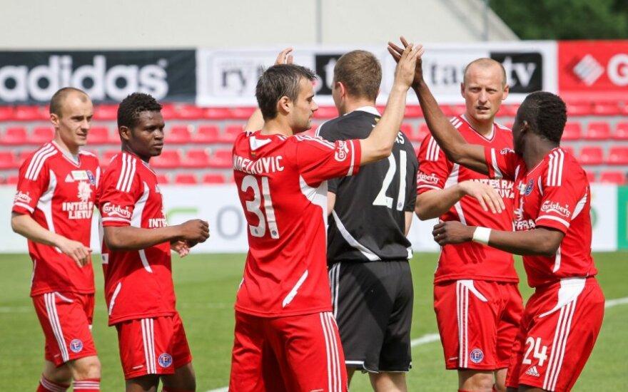 """Kitame UEFA Čempionų lygos atrankos etape """"Ekrano"""" lauktų dvikova su """"Anderlecht"""" klubu"""