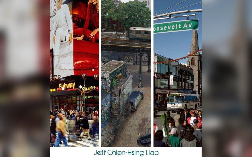"""Jeff Chien-Hsing Liao parodos """"Habitatas 7"""" plakatas."""