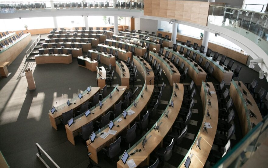 Speaker expects Lithuanian parliament to be ready for remote work by late December