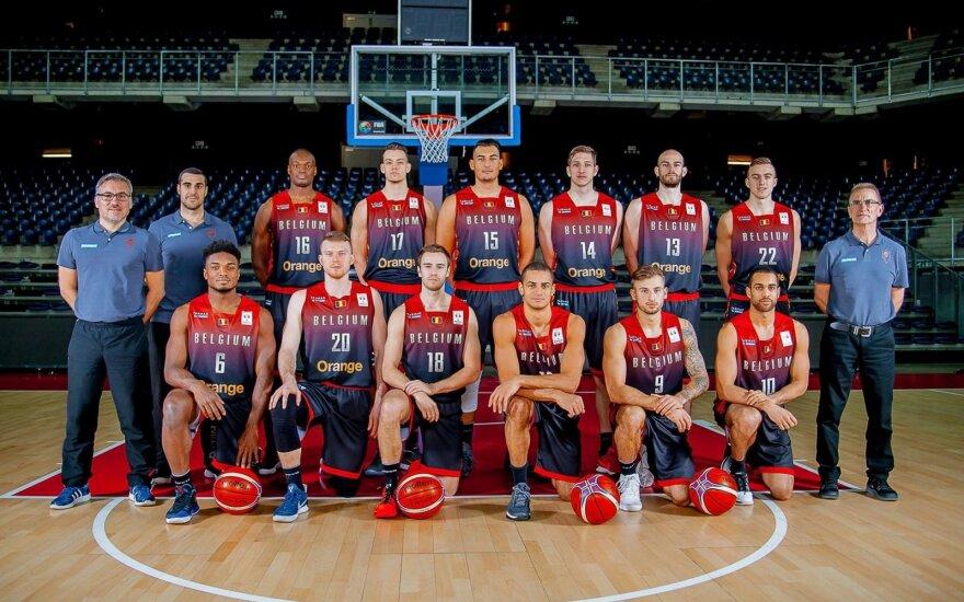 Belgijos vyrų krepšinio rinktinė