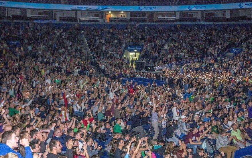 """""""Siemens arena"""" per tiesiogines transliacijas"""